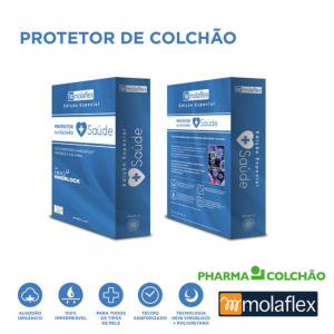 PROTETOR COLCHÃO SAUDE MOLAFLEX